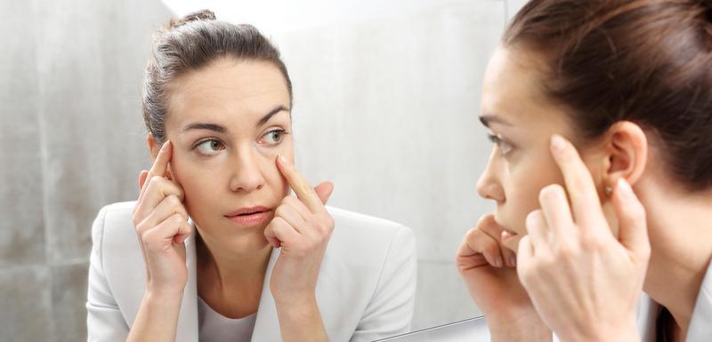 Simptomi koje možete vidjeti u ogledalu